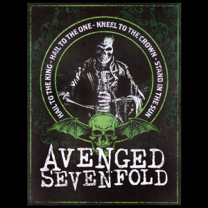 "Avenged Sevenfold Hail to the King Print 18"" x 24""**confirm pricing***"