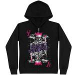 Avenged Sevenfold King Girls Black Zip  Hoodie