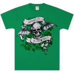 Avenged Sevenfold St. Patrick's Day Skull  T-Shirt