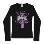 Avenged Sevenfold Forever Cross Jr. Thermal  T-Shirt