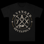 Avenged Sevenfold Crossing Over Tour T-Shirt